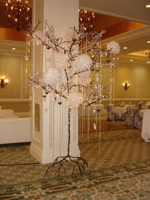 Las Vegas Hotel Reception Floral Design